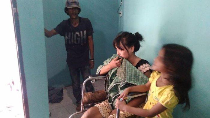 Kenangan Buruk Paramita Tertimpa Runtuhan saat Gempa Palu, Lumpuh Separuh Badan, Kini Andalkan Suami