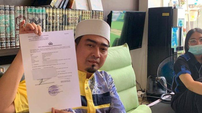 Pendakwah Ustaz Solmed saat ditemui di kawasan Kebon Jeruk, Jakarta Barat, Rabu (6/10/2021).