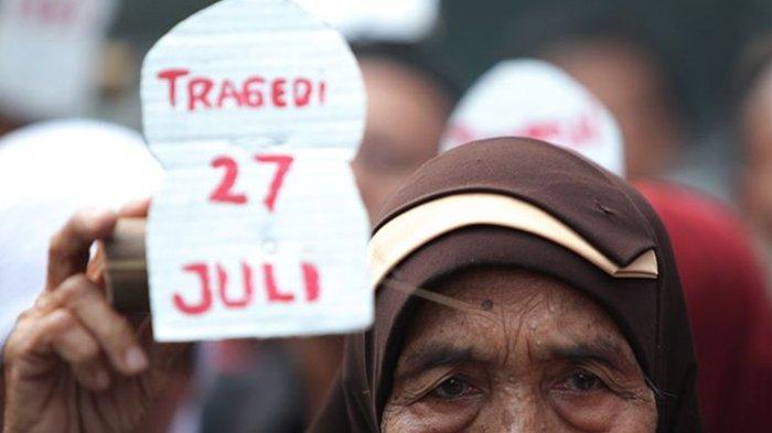 Kerusuhan 27 Juli 1996, 'Kudatuli' Sejak Pagi Hari di Jalan Diponegoro Bentrok Ribuan Orang