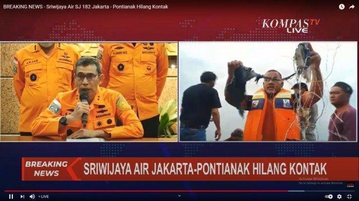 Deputi Bidang Operasi Dan Kesiapsiagaan Badan Nasional Pencarian dan Pertolongan, Mayor Jendral TNI Bambang Suryo Aji