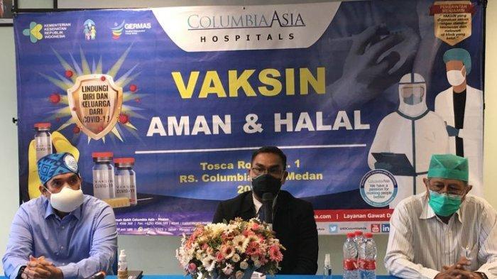Pihak Rumah Sakit Columbia Asia Medan memberi penjelasan soal masalah tagihan ratusan juta rupiah kepada pasien Covid-19 yang dirawat di rumah sakit itu.