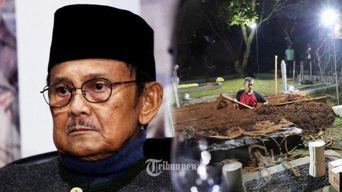 Sebelum Wafat, BJ Habibie Tetap Tepati Janji pada ARTnya Meski Duduk di Kursi Roda