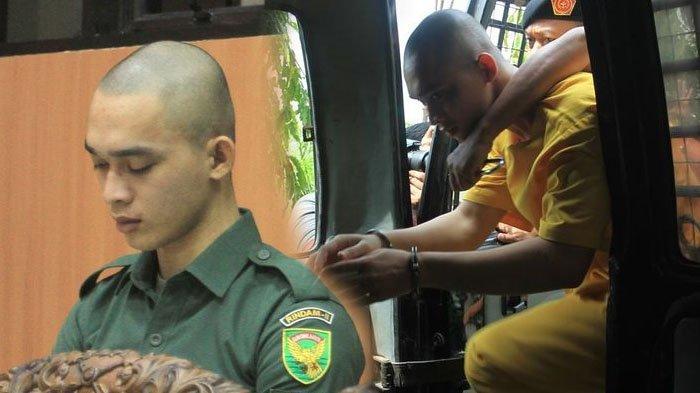 Diam Tertunduk Dengar Vonis Penjara Seumur Hidup, Prada DP Diteriaki Sang Kakak, 'Dek Jawab Dek'