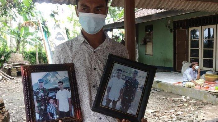 Tengah Cabut Rumput Muhdin Dikabari Putranya Pratu Dedi Gugur Ditembak KKB Papua : Sedih Sekali