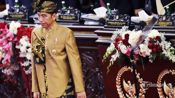 Presiden Joko Widodo Pakai Baju Adat Sasak dari NTB, Fahri Hamzah Berikan Kelakar Kocak Begini