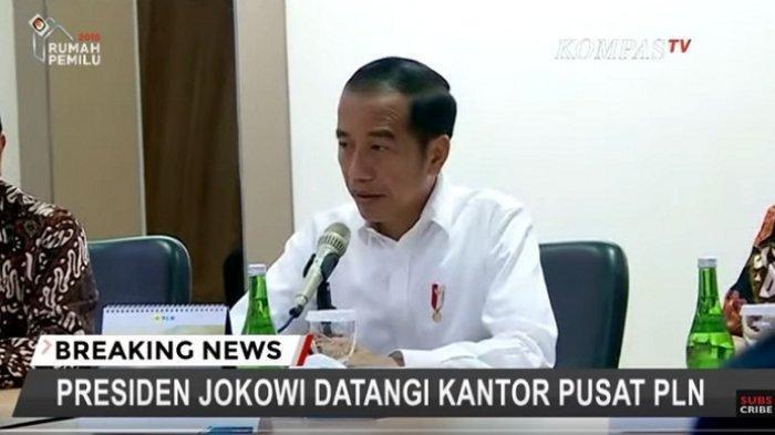Baru Menjabat 2 Hari, Plt Dirut PLN Sripeni Inten Cahyani Disemprot Jokowi Soal Pemadaman Listrik