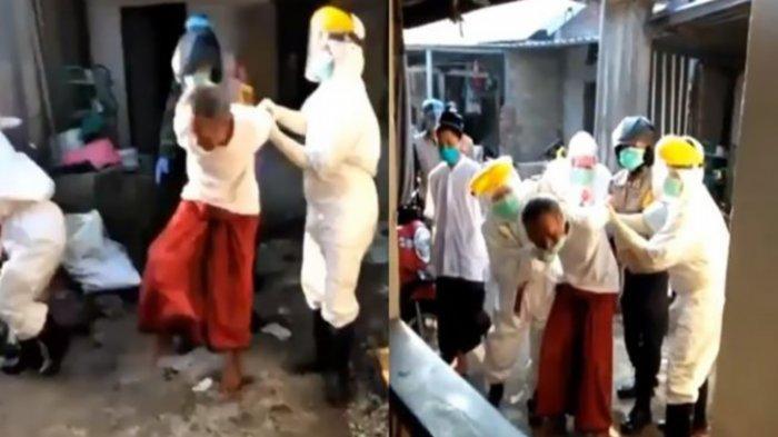 POPULER Takut Dikucilkan, Pria PDP Corona di NTB Pilih Sembunyi, Ludahi Petugas saat Dijemput Paksa
