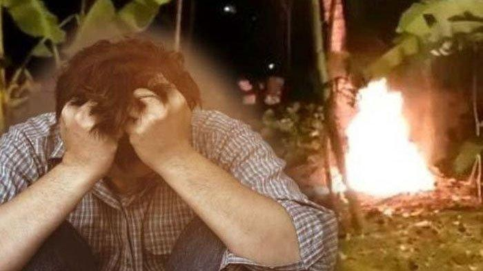 Mayat Pria Hangus Terbakar di Pesanggrahan Diduga Bunuh Diri, Ciri-ciri Diungkap untuk Cari Keluarga