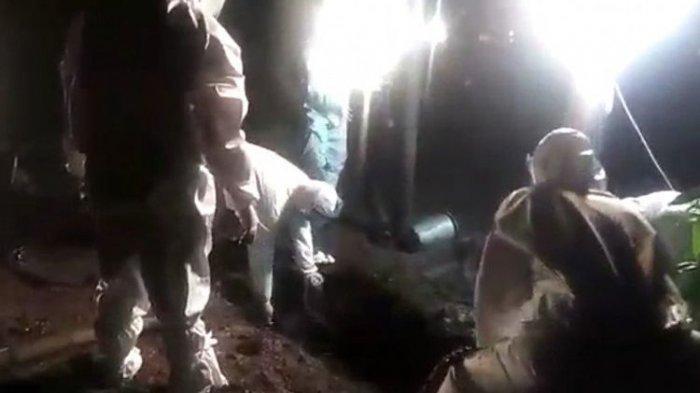 Awalnya Amankan Lokasi, 3 Polisi Kuburkan Jenazah Pasien Covid19 Gegara Petugas Pemakaman Tak Datang