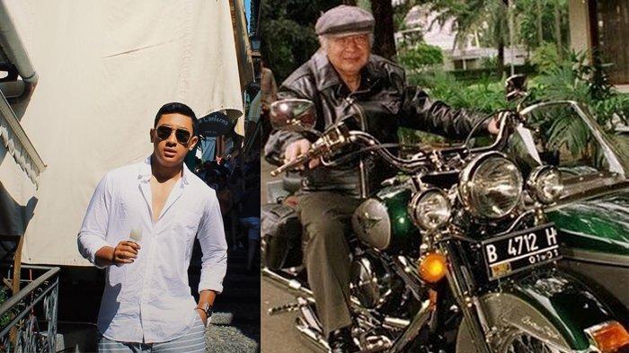 Putra Tommy Soeharto Pinjam Motor Eyangnya, Plat Nomornya Presiden Soeharto Ungkap Fakta Ini