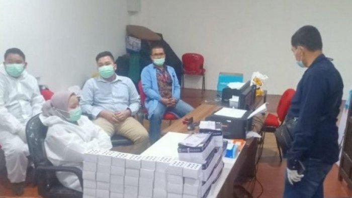 Geger Penggunaan Alat Rapid Tes Bekas di Kualanamu, Dicuci Pakai Air, Polisi Nyamar Berhasil Bongkar