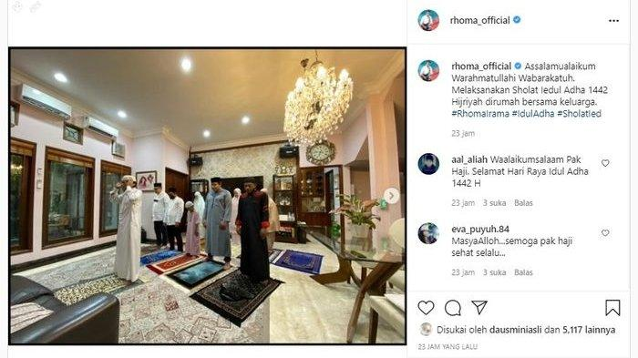 Potret rumah mewah Rhoma Irama