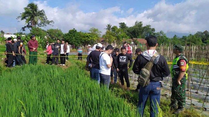 Penemuan 2 Santri Terkapar di Area Sawah di Sukabumi, 1 Tewas, 1 Luka, Warga Mulanya Dengar Rintihan