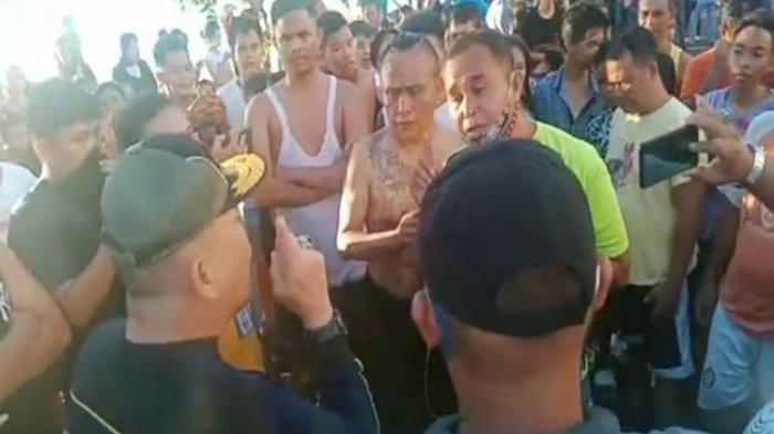 Viral Video Satpol PP Bubarkan Warga Manado yang Berenang Sampai Adu Mulut, Sebut Laut Itu Obat