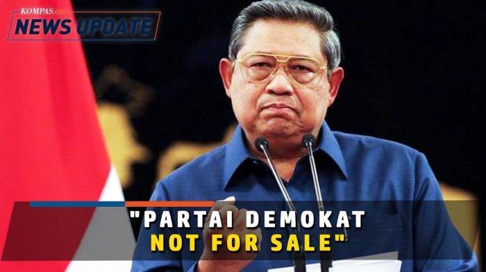 SBY tanggapi pihak yang ingin merebut dan membeli Partai Demokrat