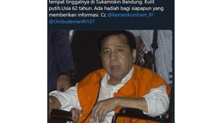 Daftar Nama Koruptor Versi ICW yang Berpeluang Bebas Berdasar Wacara Menkumham, Setya Novanto Masuk