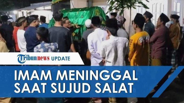 Detik-detik Kakek Khadisin Wafat saat Imami Sholat Witir di Jombang, Ambruk saat Hendak Sujud