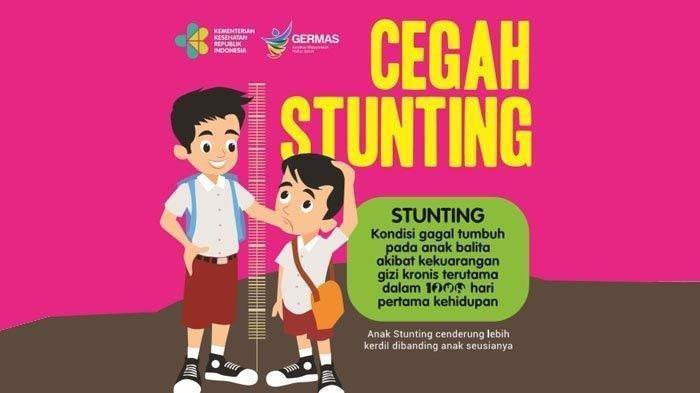 Ilustrasi stunting, masalah serius pertumbuhan anak yang tak normal