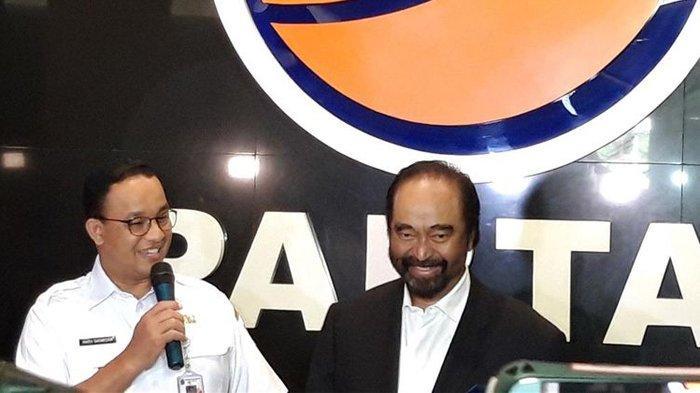 Surya Paloh Temui Anies Baswedan Beri Dukungan Maju Pilpres 2024, Nasdem Pecah Kongsi dari PDIP?