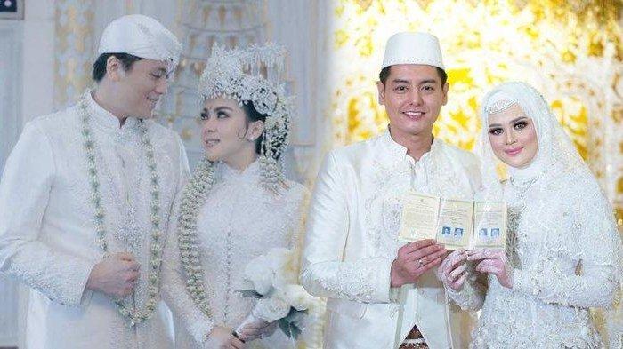 7 Pernikahan Seleb Paling Disorot Sepanjang 2020, Syahrini & Reino Barack Hingga Cut Meyriska& Roger