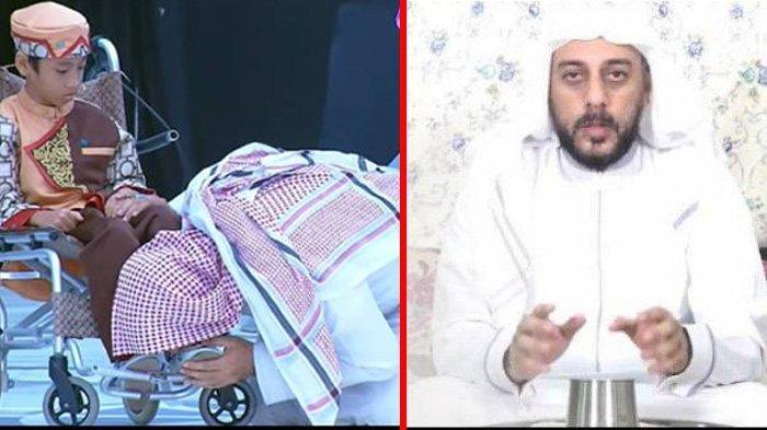 Syekh Ali Jaber cium kaki bocah seorang hafiz