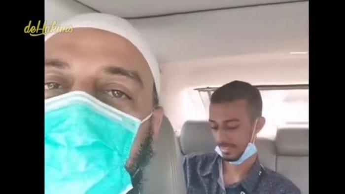 Kabar Anak Syekh Ali Jaber Usai Kepergian Ayahnya, Hasan Tersenyum Bahagia Digelendoti Adik-adiknya