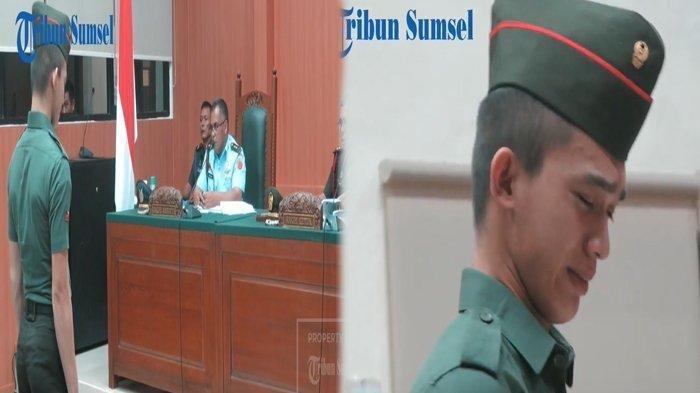 Tangisan Prada DP Pecah Saat Dijatuhi Hukuman Seumur Hidup karena Bunuh dan Mutilasi Vera Oktaria