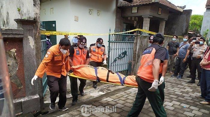 Warga di Jalan Kertanegara, Gang Widura, Nomor 24, Ubung Kaja, Denpasar Utara, Kota Denpasar, Bali digegerkan adanya penemuan mayat perempuan, Senin (28/12/2020).