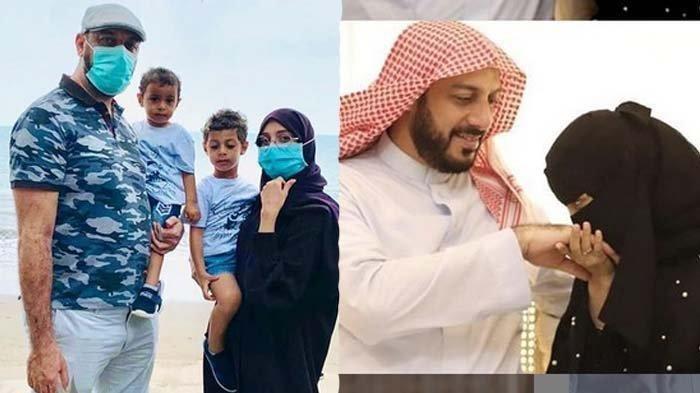 Curhat Ummu Fahad, Ramadhan Pertama Tanpa Syekh Ali Jaber, Kini Hamil Tua : Betapa Aku Rindu