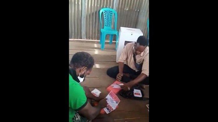 Video Viral Anggota KPPS Coblosi Surat Suara Kosong & Pilih 1 Calon : Alasan Sepakat Pilih Nomor 1