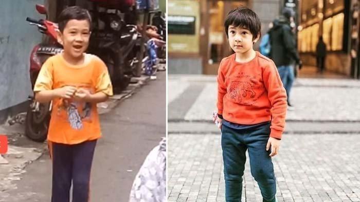 POPULER Sosok Bocah 'Kembaran' Rafathar Viral Main di Gang Sempit, Siapa Dia?