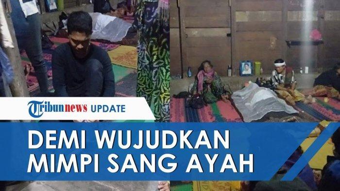 Demi Ikut Tes PTN, Pria di Sumut Tinggalkan Jasad Ayahnya yang Belum Dimakamkan, Fotonya Viral