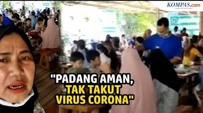 Viral Video Ibu-ibu Tanggapi Prokes, Sebut Padang Aman dan Tak Takut Covid-19: Kenapa Jakarta Panik?