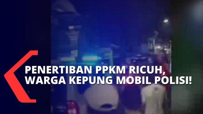 Viral Video Warga Usir Petugas Patroli PPKM Darurat di Surabaya, Polisi: 'Ada Provokator di Medsos'