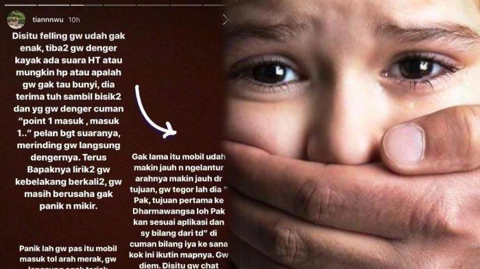 Viral Wanita Ngaku Diculik Driver Grab, Ternyata Cuma Salah Paham, Kini Minta Maaf & Cabut Laporan