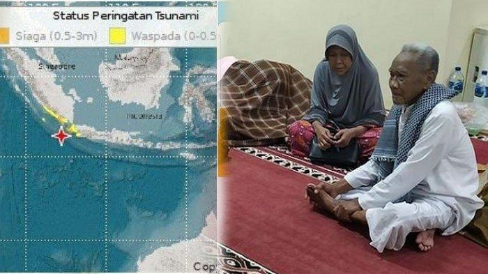 Meski Potensi Tsunami Dicabut, Warga Sukabumi Lebih Pilih Mengungsi, Masih Takut Gempa Susulan