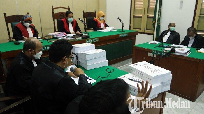 JAKSA KPK Tuntut Syamsul Hilal dan Ramli Lebih Berat Dibandingkan 12 Mantan Anggota DPRD Sumut Lain