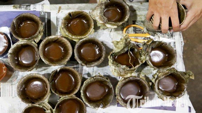 Berita Foto: Kue Bakul (Keranjang) Makanan Khas Saat Perayaan Tahun Baru Imlek