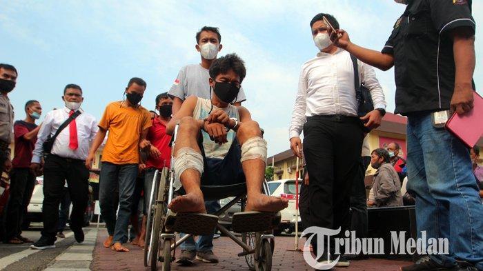 Tampang Agus Tambunan (40) Begal Sadis di Medan Serta 6 Rekannya, Pelaku Positif Narkoba