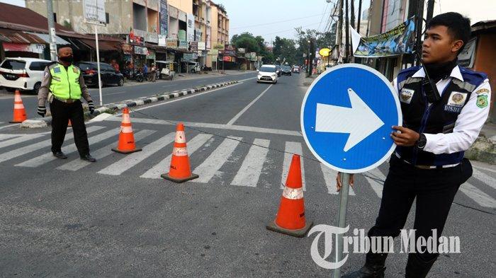 PERUBAHAN Buka-tutup 12 Jalan di Kota Medan, Kasatlantas Polrestabes Bicara Pergeseran Lokasi