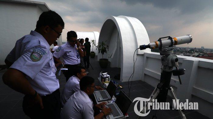 Foto-Foto Pantauan Rukyatul Hilal 1 Syawal 1440 Hijriyah di Medan - 03062019_pantauan_hilal_satu_syawal_danil_siregar-2.jpg