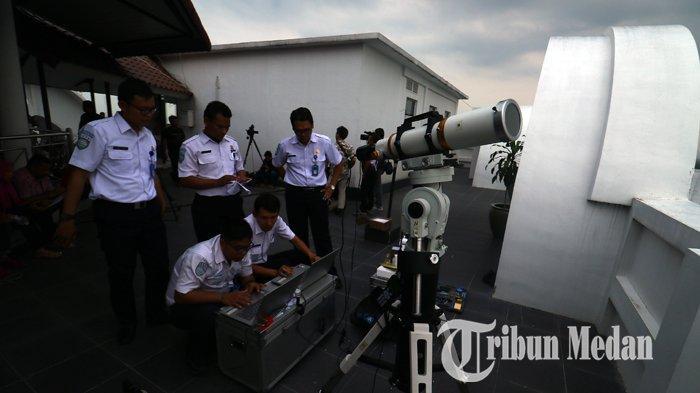 Foto-Foto Pantauan Rukyatul Hilal 1 Syawal 1440 Hijriyah di Medan - 03062019_pantauan_hilal_satu_syawal_danil_siregar.jpg