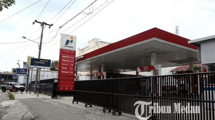 Sejumlah SPBU di Kota Medan Alami Kelangkaan Premium dan Pertalite