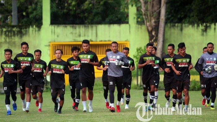 Liga 2 2021 Ditunda, Manajemen PSMS Medan Berharap Pemain Tidak Patah Semangat