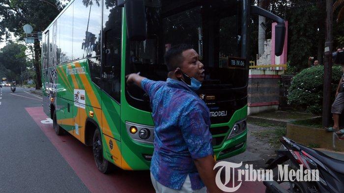 Pascapelemparan Bus Metro Deli, Pengelola Perketat Pengamanan di Koridor