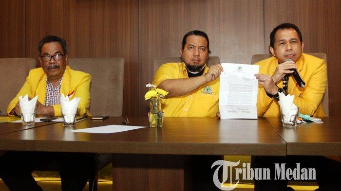 Sekretaris Golkar Sumut Sebut Musda Ulang ke-10 Akan digelar Bulan Agustus