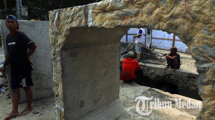 Berita Foto: Perbaikan Drainase Diharapkan Dapat Mengurai Banjir di Kawasan Lapangan Merdeka - 11092019_perbaikan_drainase_danil_siregar-2.jpg