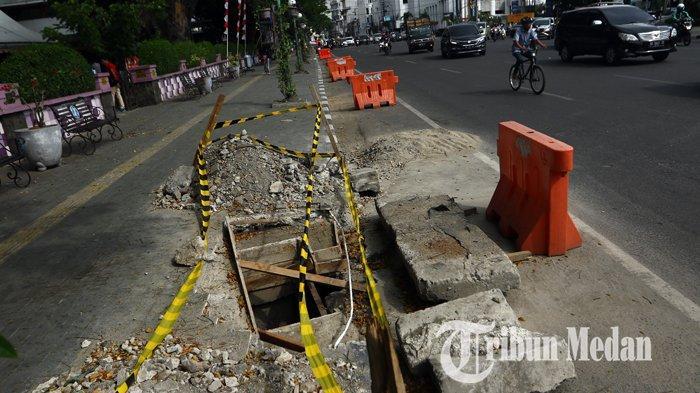 Berita Foto : Perbaikan Drainase Untuk Mengurai Banjir di Kawasan Lapangan Merdeka Medan - 12082019_perbaikan_drainase_danil_siregar-3.jpg