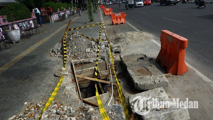 Berita Foto : Perbaikan Drainase Untuk Mengurai Banjir di Kawasan Lapangan Merdeka Medan - 12082019_perbaikan_drainase_danil_siregar.jpg