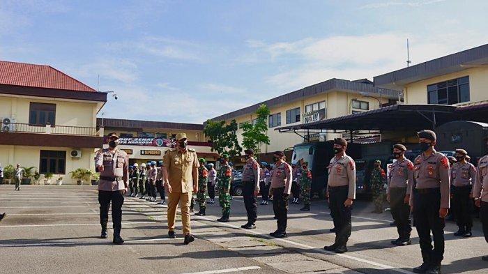 Bobby Nasution Pimpin Apel Gelar Pasukan Operasi Ketupat Toba Tahun 2021